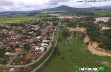 Rio Perdição transborda em Tapiraí